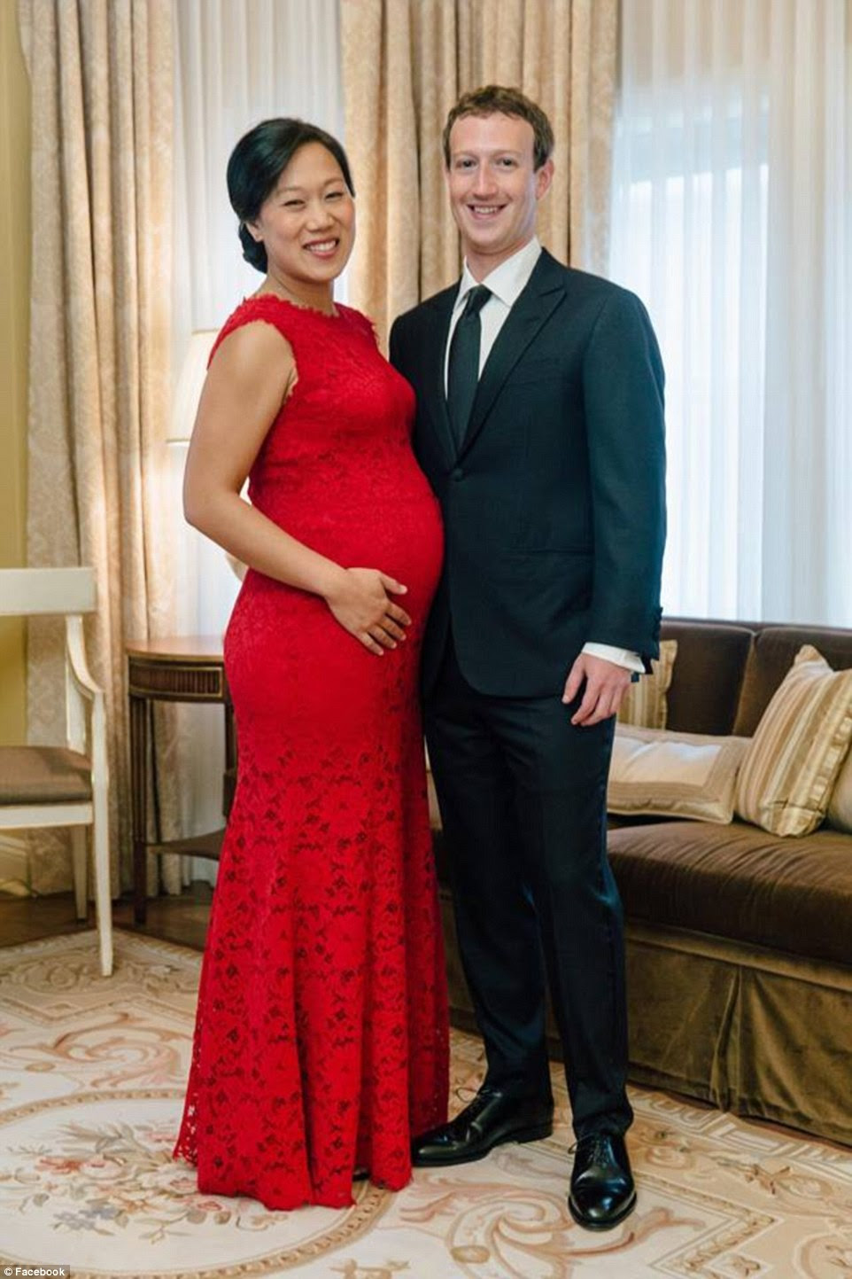 Great expectations: The couple have vowed to use their riches to improve life for future generations including their daughter Max