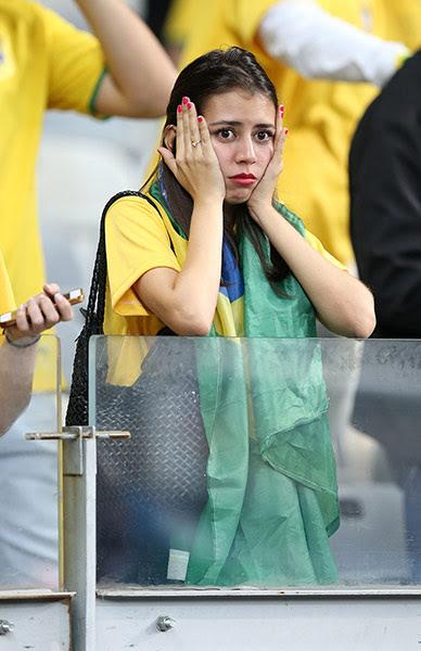 football-: Brazil v Germany - Estadio Mineirao