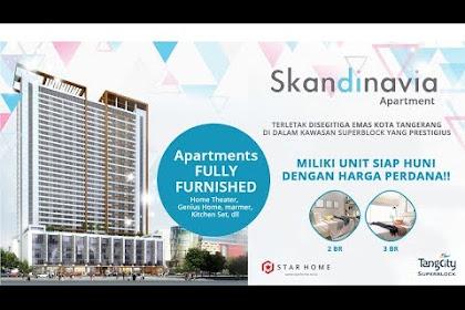 Skandinavia Apartment,Investasi Terbaik Di Kota Tangerang