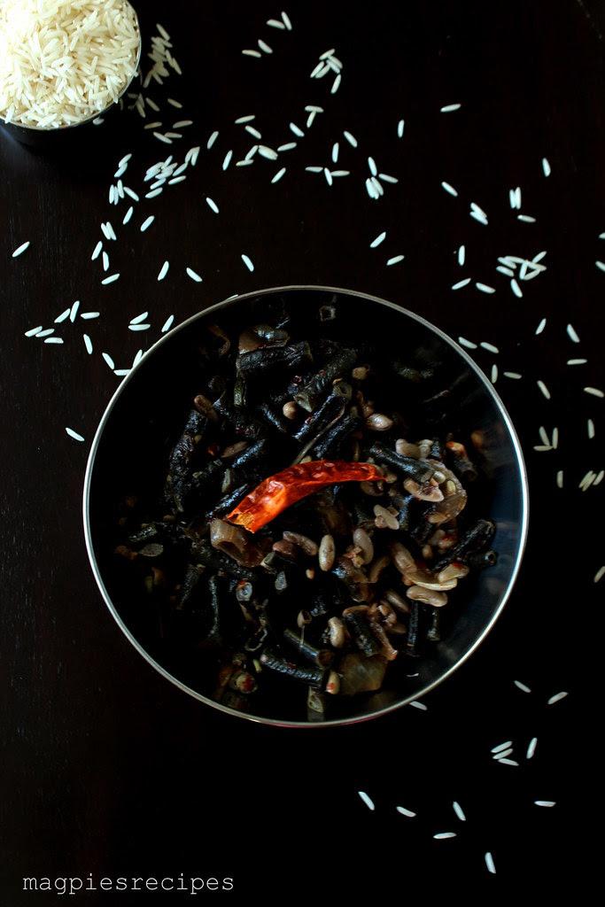Kerala beans stir fry