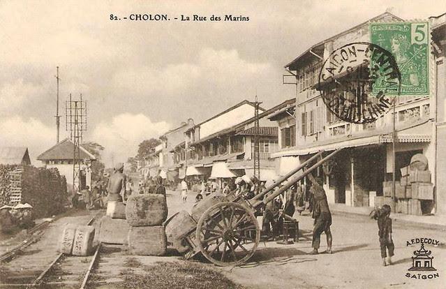 CHOLON - LA RUE DES MARINS
