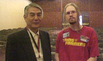 Mr Matsutani and Ninjatron