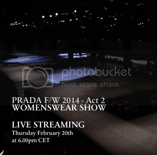 Prada Women fall winter 2014/15 show livestream