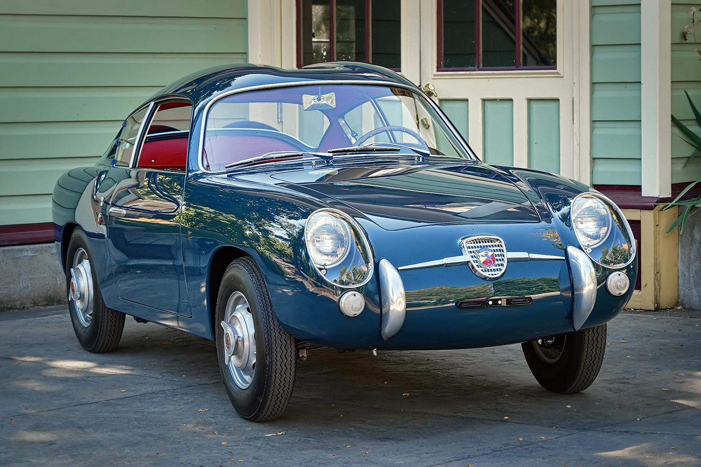 Restored 1958 Fiat Abarth 750 Zagato Sports Car Shop Fiat Abarth