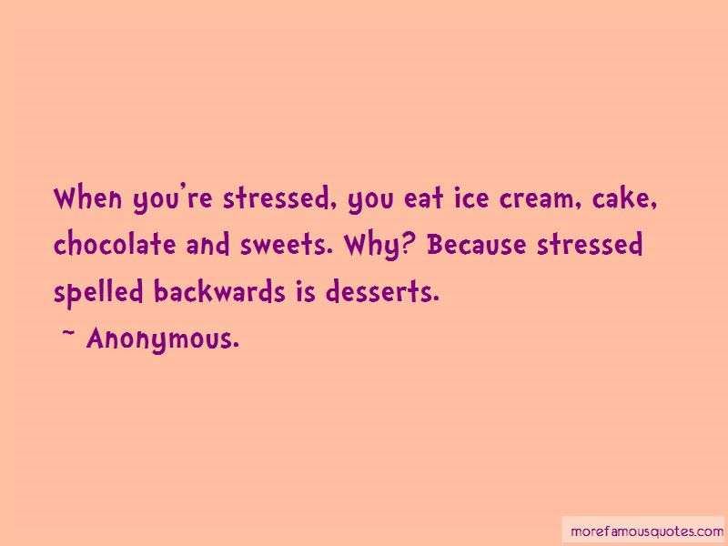 Quotes About Sweets And Desserts Top 2 Sweets And Desserts Quotes