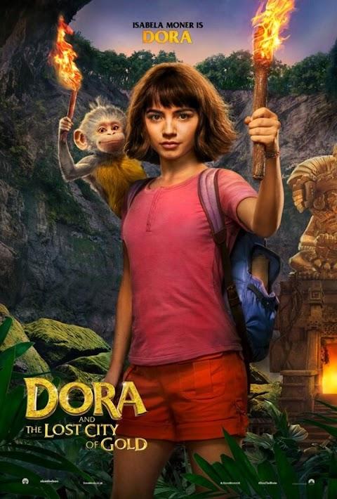 Dora and The Lost City of Gold (2019) 720p BRRip Dual Audios [ HINDI + ENGLISH ] Eng Sub