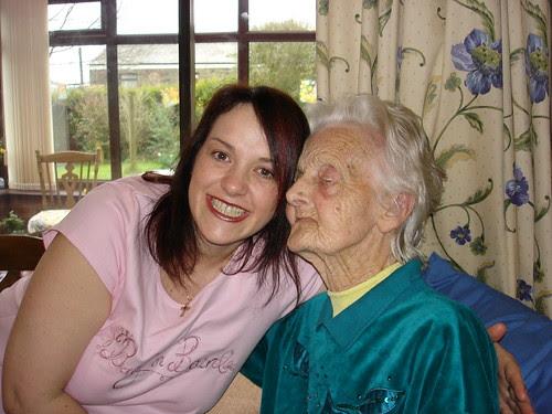 Hayley and Nin (Steve's grandmother)