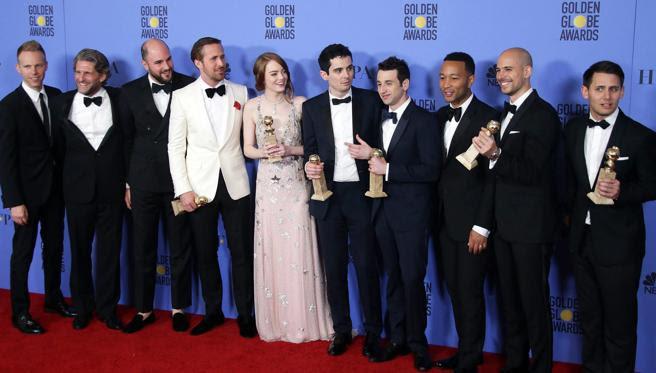 'La La Land' se impuso en las principales categorías