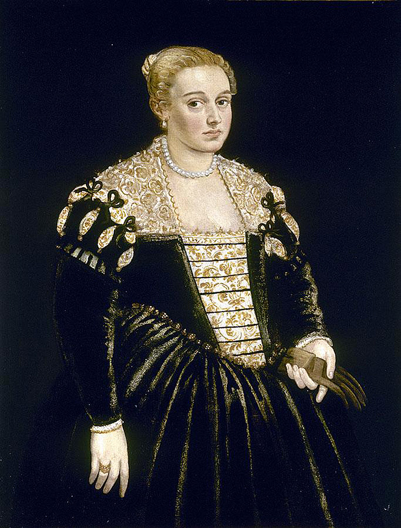 Tintoretto Portrait of a Lady