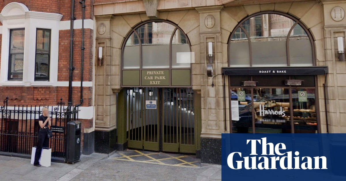 'Ideally located': £250,000 parking space for sale near Harrods