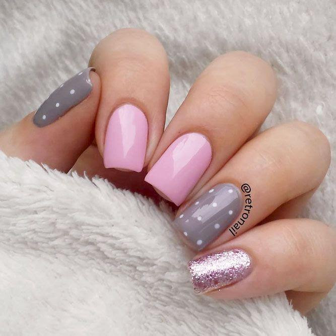 27 Simple Nail Designs For Short Nails To Do At Home 2853123 Weddbook