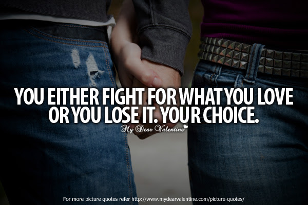 Love Quotes When Fighting Love Quotes