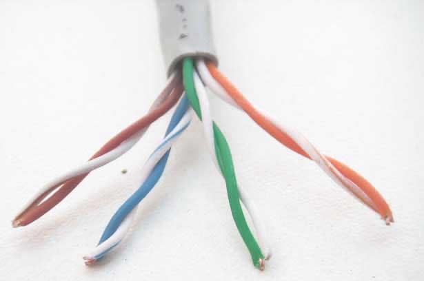 Cable UTP, Par Trenzado