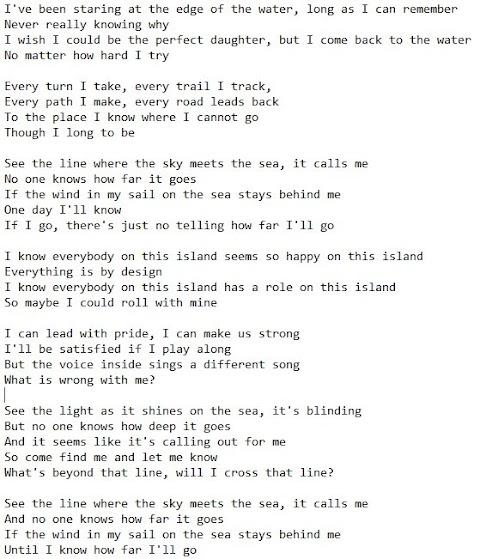 How Far Ill Go Full Lyrics