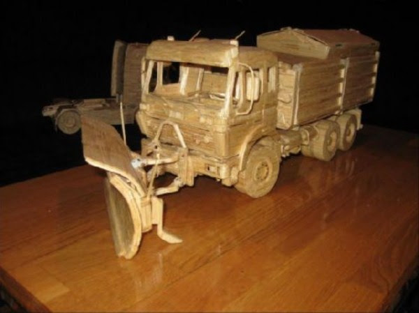 1137 Impressive Matchsticks Vehicles (20 photos)