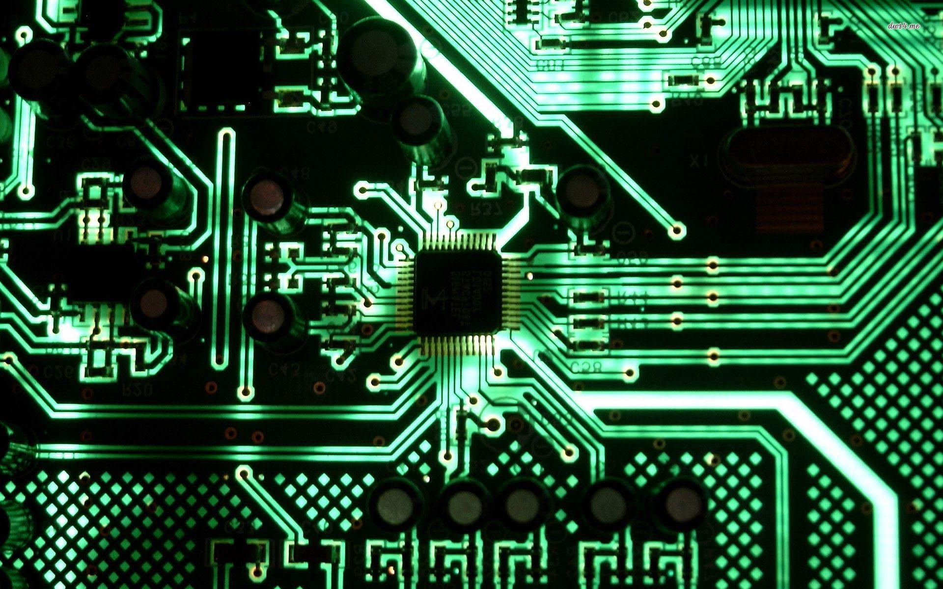 Circuit Board Wallpapers HD - WallpaperSafari