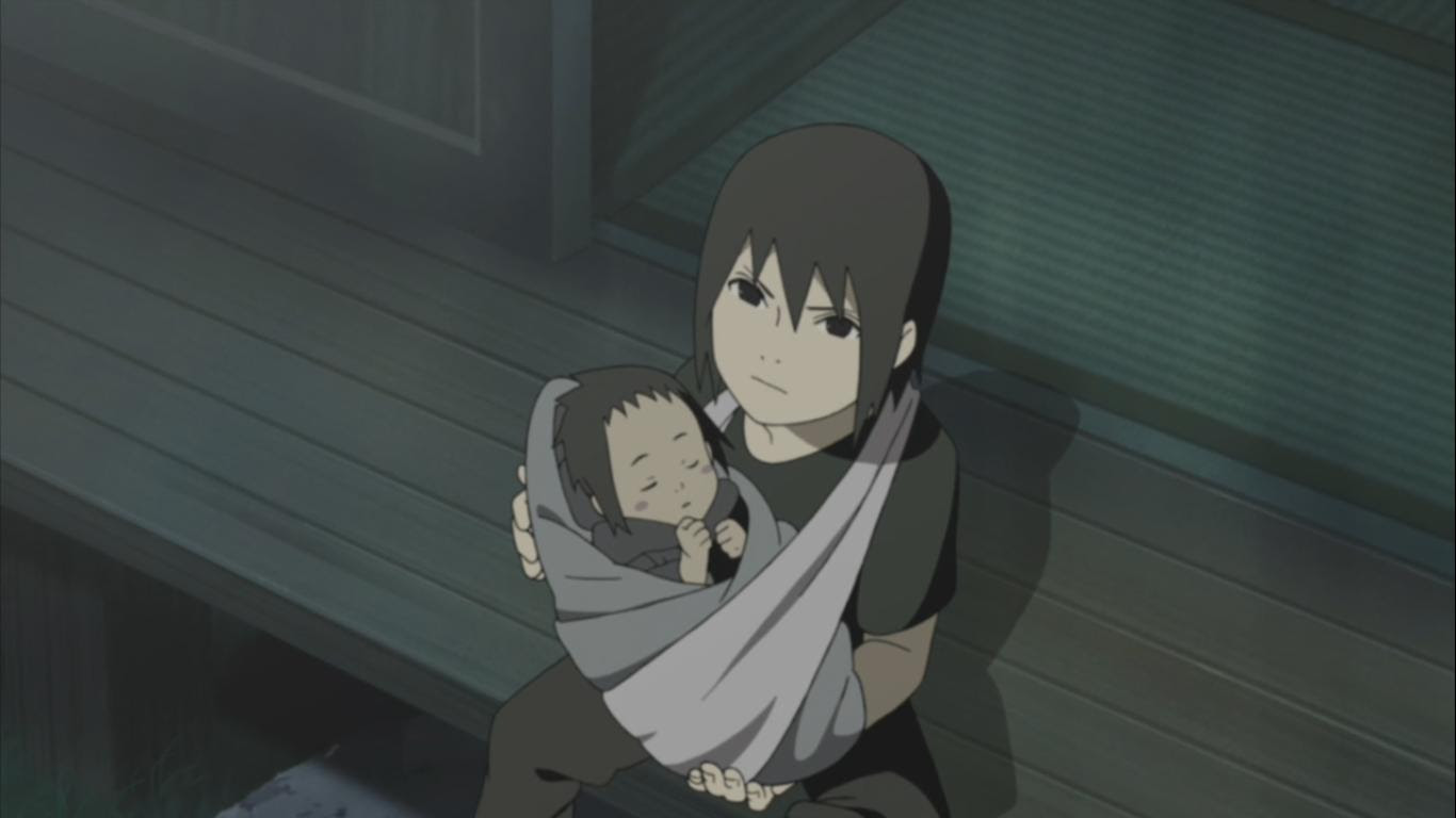 and Itachi's Relationship – Naruto Shippuden 248  Daily Anime Art