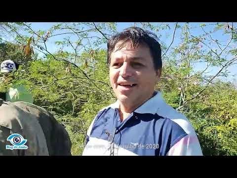 Veja como foi o resgate de seu Geraldo Severo na mata fechada com o ex prefeito Maurício, blog do Jasão e os desbravadores de Oiticica