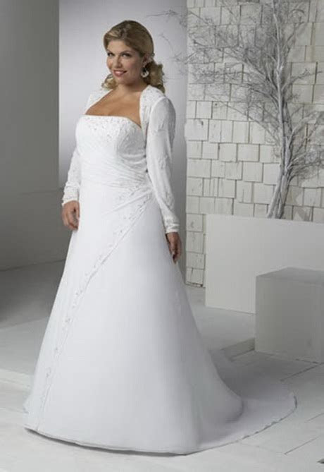 Plus size wedding dresses informal