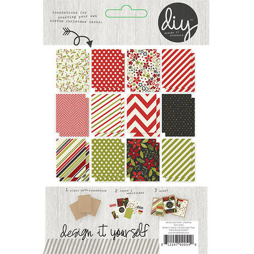 Simple Stories - DIY Christmas Collection - A2 Card Fronts