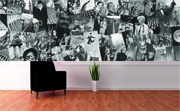 Creative Collage Wallpaper Mural Life Decor Wisestuff