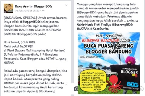 Buka Bareng Blogger Bandung