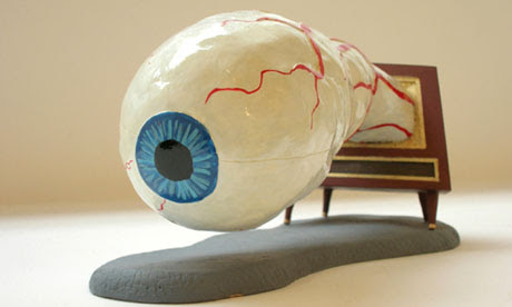 Jim Shaw: Dream Object (Eyeball TV Model) 2006