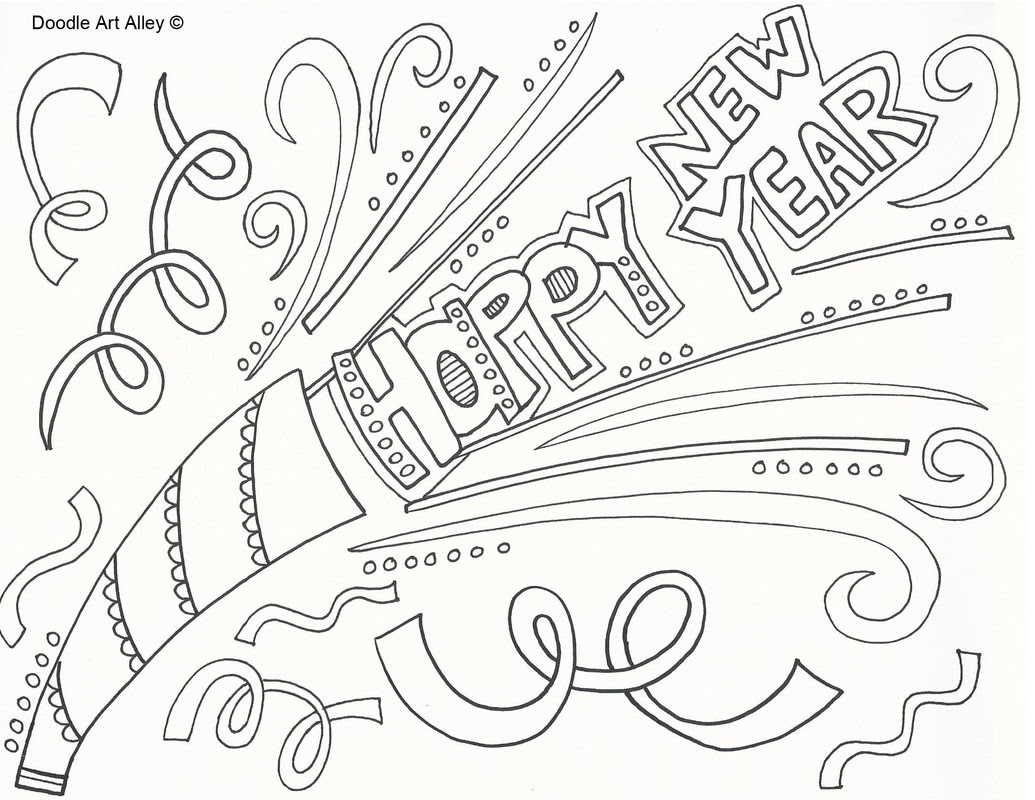 Happy New Year Doodle 25