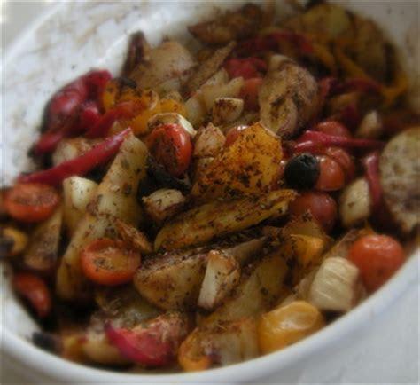 Spanish Roasted Vegetables recipe   MyDish