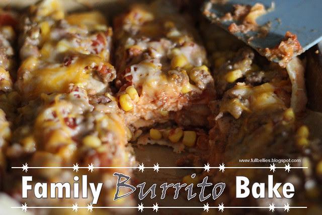 Family Burrito Bake