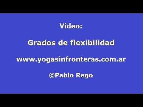 Grados de Flexibilidad en la práctica de Yoga