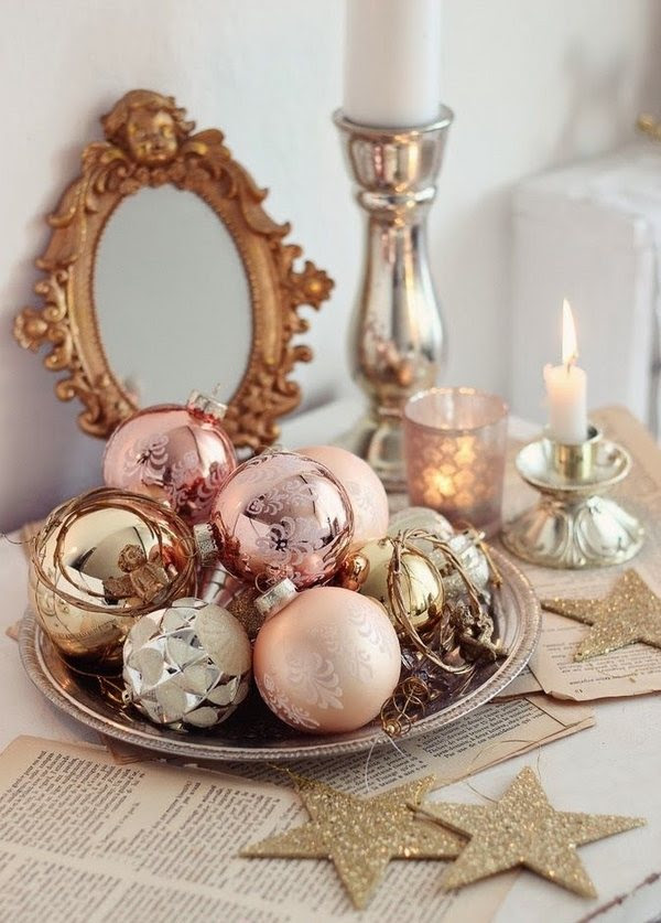 40 Amazing Ways To Use Christmas Ornaments In Home Decor Christmas Celebration All About Christmas