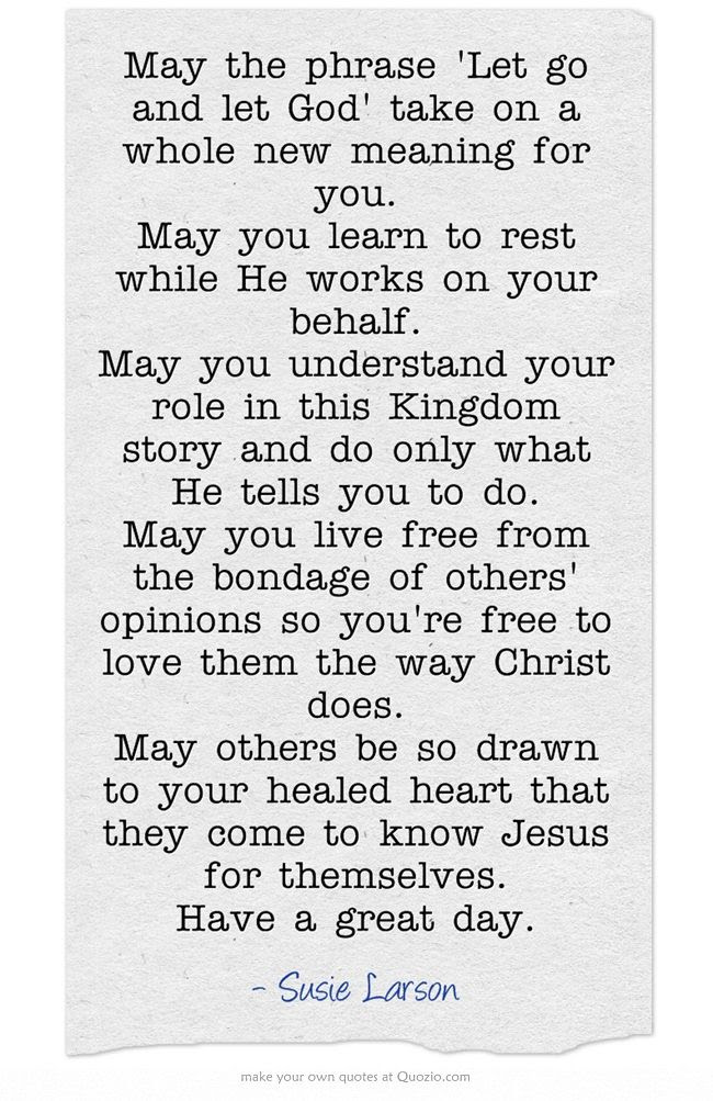 I loved the final quote: May others be so drawn to your healed heart that they come to know Jesus for themselves.