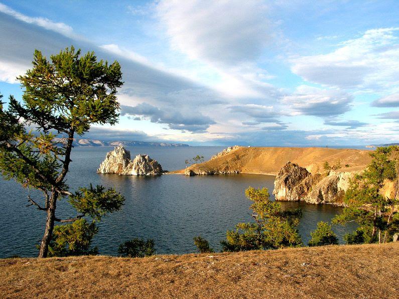 ilhas Olkhon Island, no lago Baikal