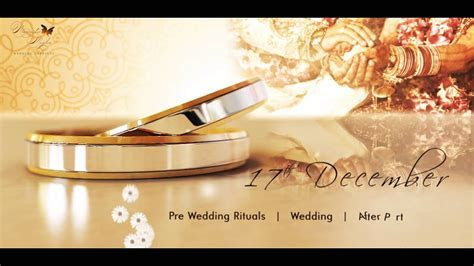 wedding invitation video, video invitation   classy