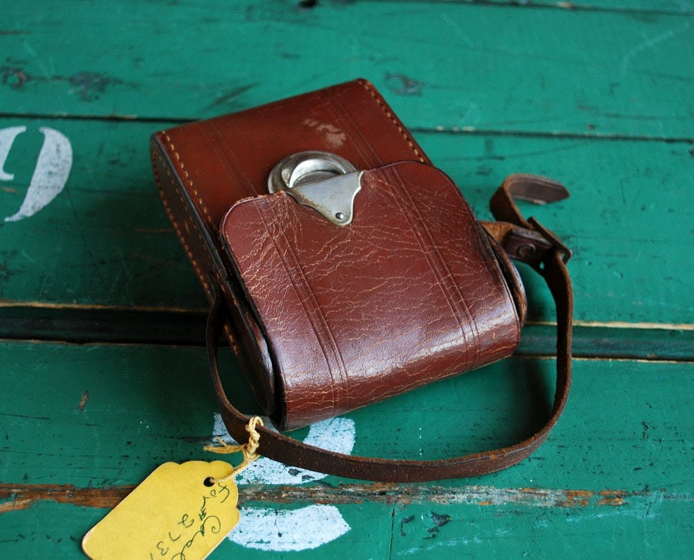 Vintage Leather Camera Case for IPhone