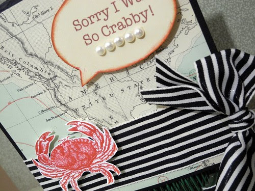 Sorry I was so Crabby (detail)