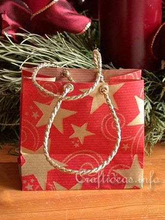 Wrapping Paper Christmas Gift Bag