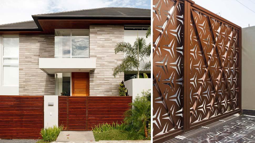 Gate Designs For Modern Minimalist Homes Rl