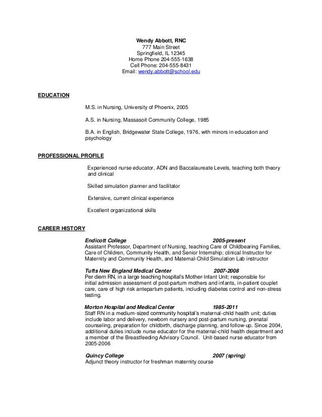 62 COVER LETTER FOR LABOR AND DELIVERY NURSING JOB