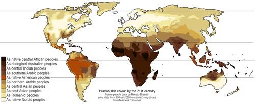 yuki tuama: Hautfarbe des Menschen - Wikipedia