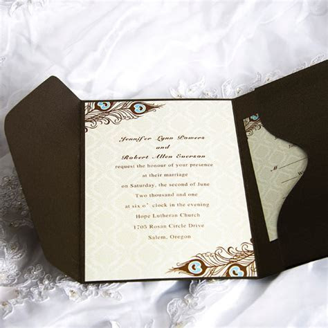 Cheap Peacock Wedding Invitations Online At