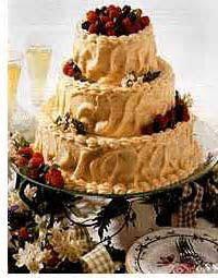 Tiramisu Wedding Cake (Our Groom's Cake)