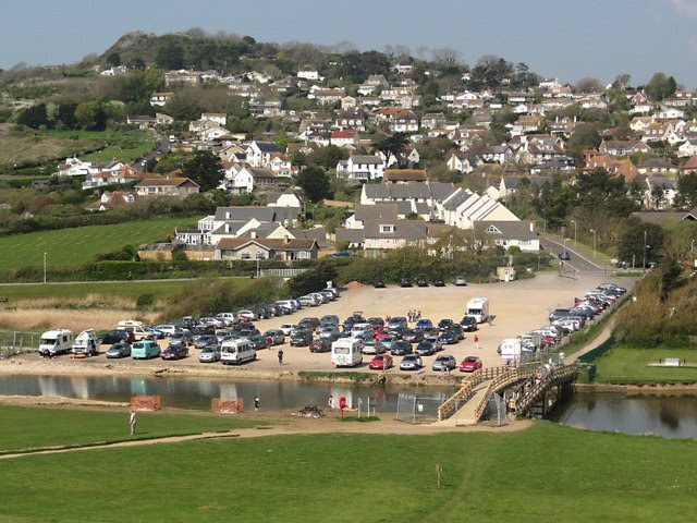 Charmouth And The Car Park Tony Atkin Geograph