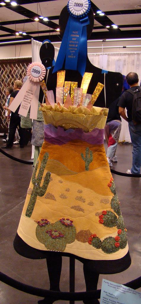 DSC02765 Wearable Art 5014 Passing through the Painted Desert by Judy Mullen
