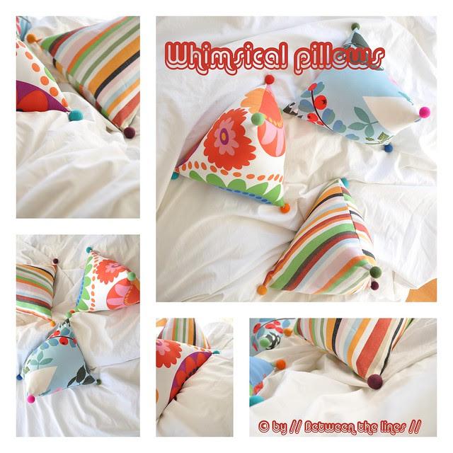 Whimsical pillows :: a tutorial
