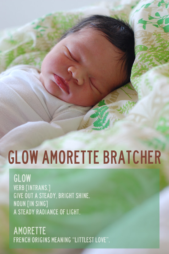 our little Glow