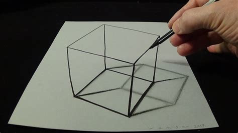 drawing  simple cube  time lapse   draw