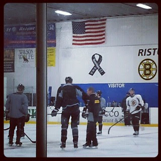 @bruinshockey practice #boston #bruins #bruinsareback #hockey