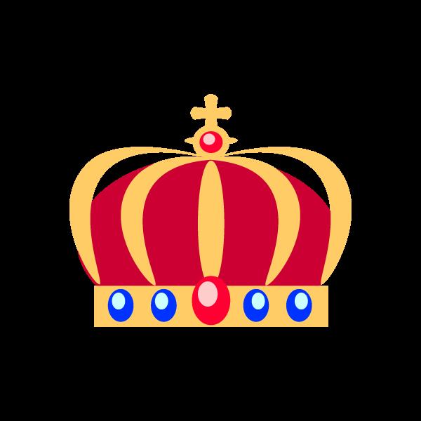縁無しでかわいい王冠2の無料イラスト商用フリー オイデ43